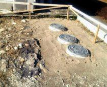 各務原市 二世帯住宅 新築 施工実績 浄化槽設置工事